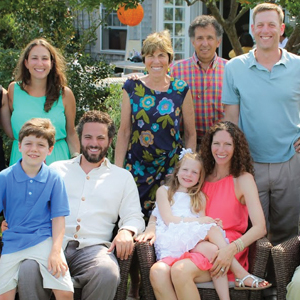 The Schiffman clan at a recent family gathering